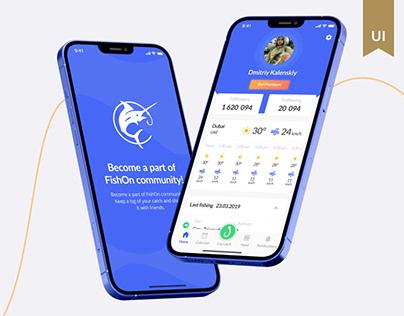 FishOn Mobile Fishing App