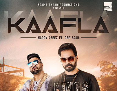 Kaafla -Poster Design (Harry Azeez FT Dsp Saab)