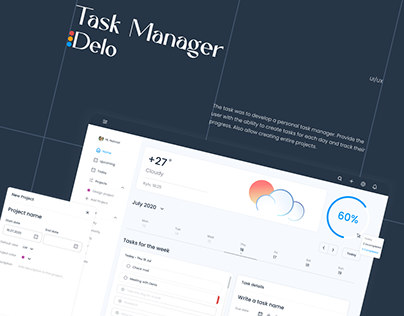Delo - Task Manager