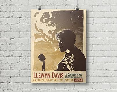 Llewyn Davis Gig Poster
