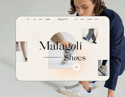 E-commerce redesign. Malagoli Shoes