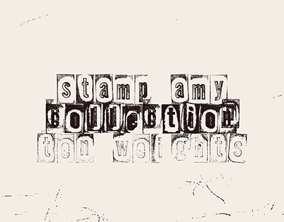 LRC Type Stamp AMY Collection (Free)