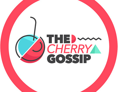 The cherry gossip - Branding