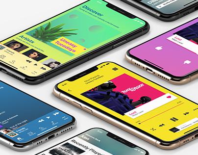 Music App UX/UI