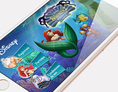 """App """"Disney La Sirenita 2"""""""