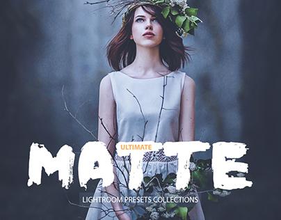 Ultimate Matte Lightroom Presets