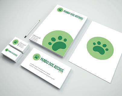Clínica veterinária e pet shop