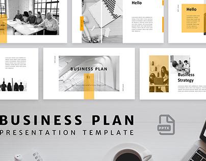 Business Plan Presentation Template