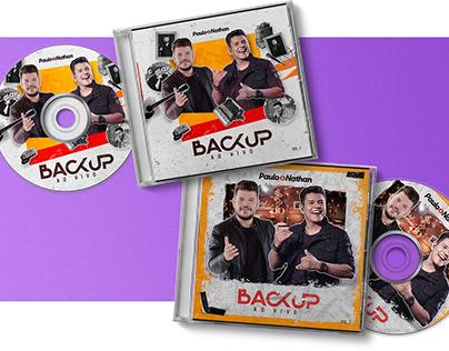DVD - PAULO & NATHAN - BACKUP 2020