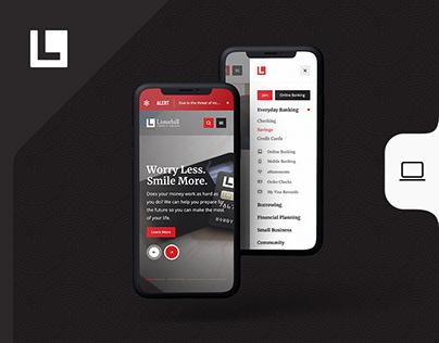 Listerhill Website Redesign
