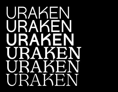 Uraken font family