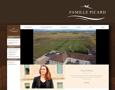 Famille Picard - website