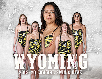 Wyoming 2019-20 Swim & Dive Graphics