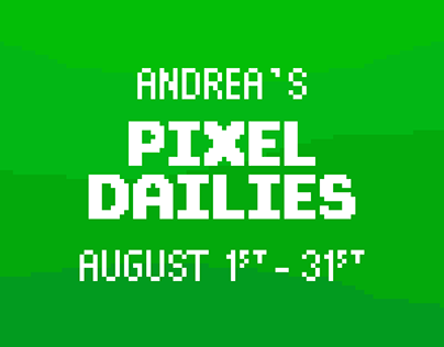 My Pixel Dailies - August 2019