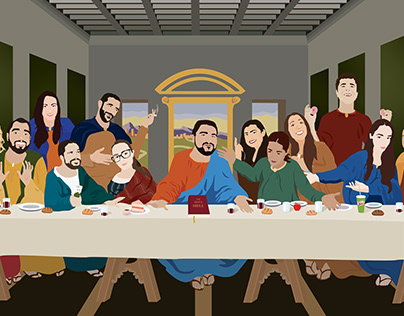 Last Supper Colleagues