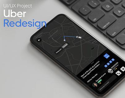 Uber Redesign - UI/UX
