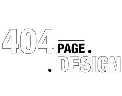 404 Design UI Project