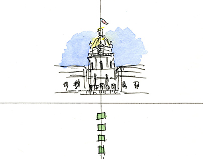 Various watercolor sketches