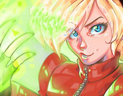 Fanart - Ash Crimson