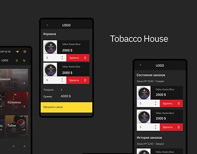 Tobacco House   UI & UX