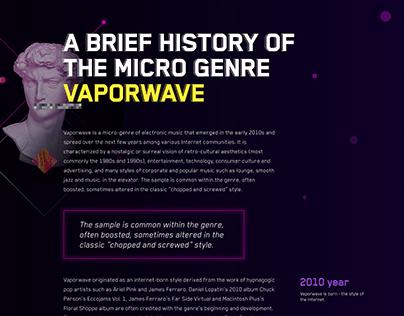 Vaporwave article