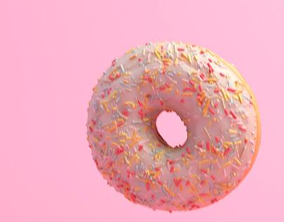 CG Food - Jumping Donuts