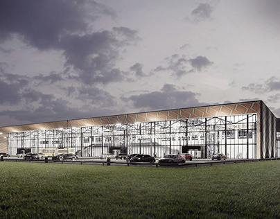 Concept of International Airport Chernovtsy