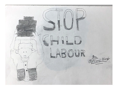 Stop Child Labour poster