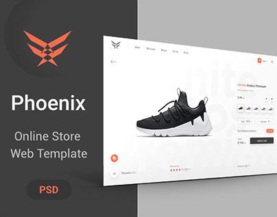Phoenix - Store PSD Template
