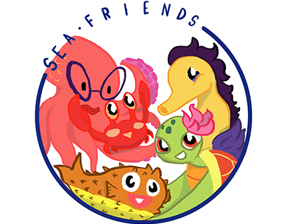 Sea Friends - Webcomic