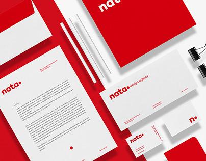 Nata Design - Rebrand