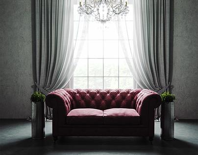 Sofa at the Window