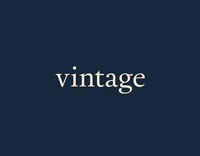 Marca y branding para Vintage