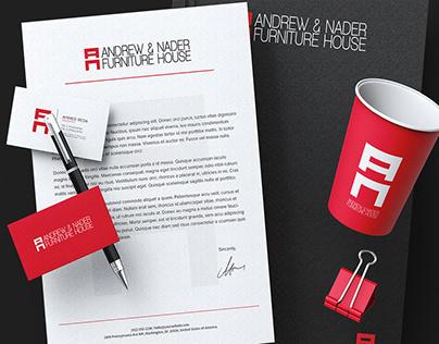 ANDREW & NADER Furniture House - Branding