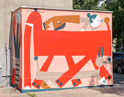 Kindergarten mural