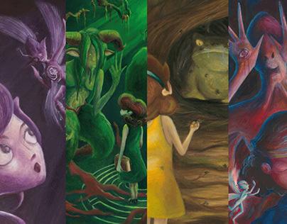 Acrilyc Illustrations - Pan's Labirinth