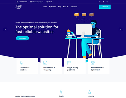 Wordpress Agency Website by Elementor