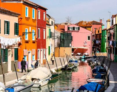 Colors of Venice & Burano