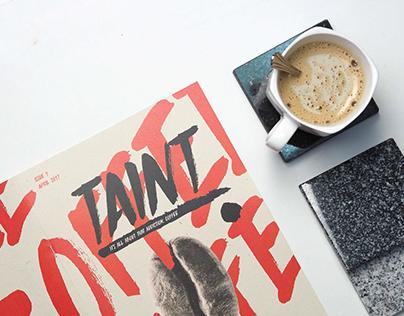 Taint - Magazine Layout