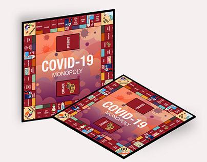 Monopoly Board Games - COVID 19