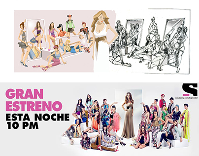 Storyboard Mexico´s next Top Model