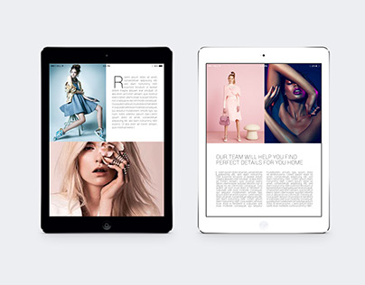 Ipad&Tablet Fashion Brochure