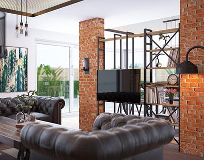 Industrail Design / Living Area