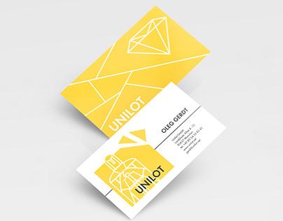 Business card for OLEG GERDT