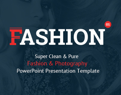 Fashion and Photography PowerPoint Presentation Templat
