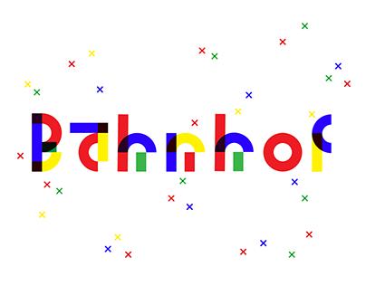 Bahnhof Typeface