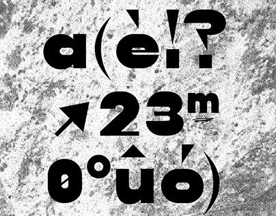 Pivetta Typeface