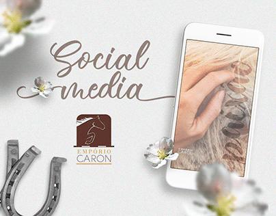 Empório Caron • Social Media
