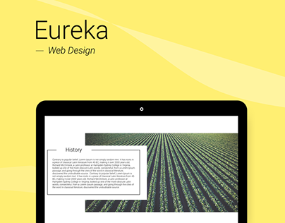 Eureka - Web Design