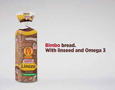 Bimbo bread with linseed and Omega 3